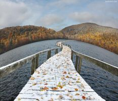 The Floating Bridge by BenHeine