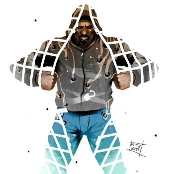 Luke Cage tribute by Nezart