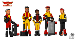 Planes Fire and Rescue: Smokejumpers by Aileen-Rose