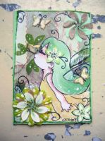 Spring ACEO no.1 by oliko
