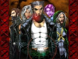 x-men by Edge-Works