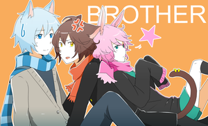 Brothers get along right? by cheryu