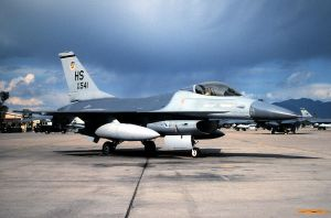 "309 TFS F-16A at ""Longrifle 87 by F16CrewChief"