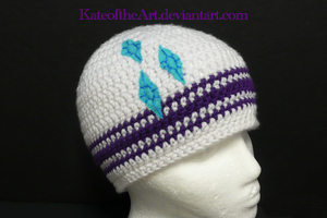 Rarity Striped hat by KateoftheArt