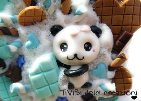 Cute Panda by tivibi