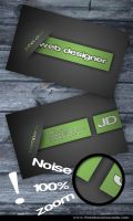 Noice Moder Card by Freshbusinesscards