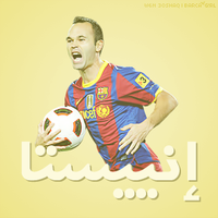 Arabic Name 4 Iniesta by w6n3oshaq