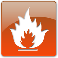 Flammable Icon by justinlavelle