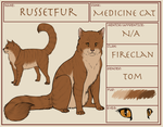 Russetfur Application by TamHorse