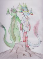 The other realm's King and queen! by Dragon-Wish