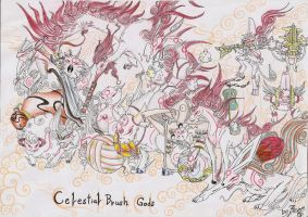 The Celestial Brush Gods