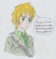 APH - Troubled Thought by SwiftNinja91