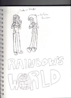 Rainbow Campbell and Derpy Algar by Luckyeater