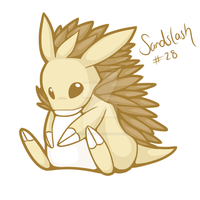 Request: Sandslash by hyperfluffball