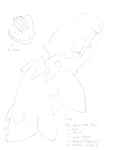 Fin fossil and fakemon by G-FauxPokemon