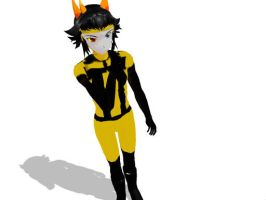 MMD Psiioniic Download -DOWN AGAIN- by DizzySweaterKitty