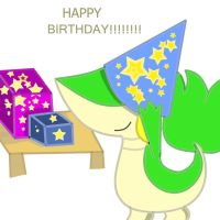Snivy's B-Day Celebration by Augie-Ottie