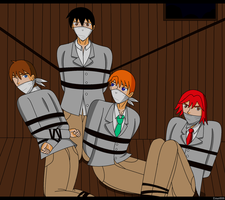 The C.M.A Academy Boyz in trouble by ernet888