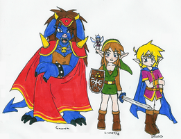 Legend of reverse Zelda gender by Hyliaman