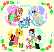 My Little Frozen Christmas by MeganLovesAngryBirds