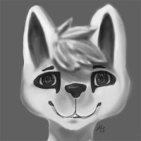 Practice - Lineless Face by McFloof