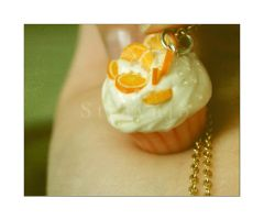 Orange Spring Cupcake II by Straynj3