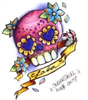 Baby Lola Sugar Skull by MsRaggaMuffin