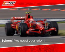 Schumi. We need your return. by rusRayden
