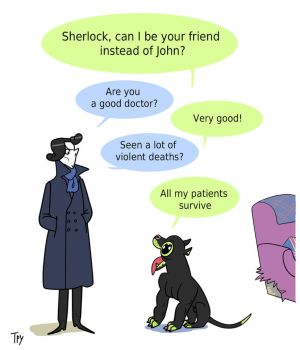 sherlock bbc - The good doctor by TRURURU-Matthew
