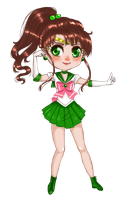 Chibi Sailor Jupiter by Leeeliaaa