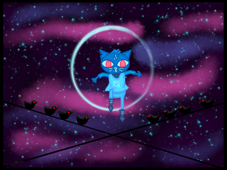 Night In The Woods: Mae's Dream by PhoenixGirl1