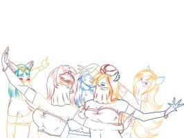 Sketch: Group 3 by HannaEsser