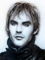 Ian Somerhalder - Portrait by Sadako-xD