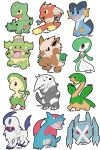 Hoenn Pokemon Chibis by CaloyPinoy