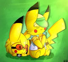 Pikabros (Request) by ShadowSnivy14