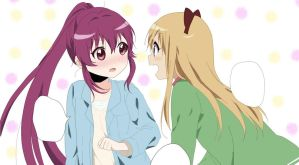 Yuru Yuri Color by luzmin