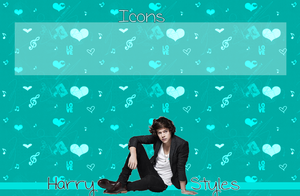 Harry Styles Turquoise Wallpaper by iluvlouis