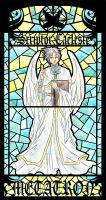 TSFH Stained Glass 6- Metatron by MPsai