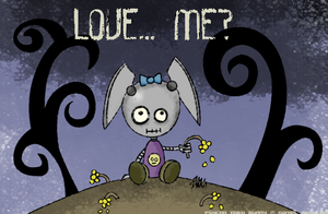 Psycho Robo Bunny - Love.. Me? by Kritter5x