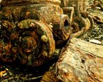 Rusted Engine II by Rose-Autumn