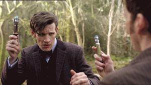 Doctor Who - 50th Anniversary - Mine is Better by SUPAPUCH