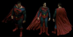 Kingdom Come Superman Cape by Reyknow