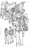 The Line 03 Cover Pencils by EricGravel