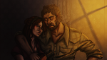 The Last Of Us - Joel and Tess by Lulu-E-Lin