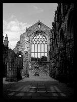 Ruins of Holyrood Abbey by ClintonKun