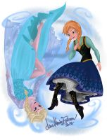 * Frozen Sisterhood * by TheLupin