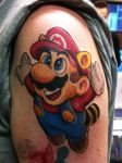 Mario Tattoo by jerrrroen