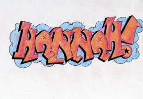 Graffiti Tag by HaanaArt