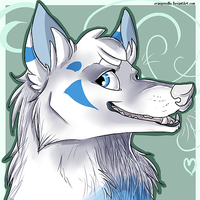 sessko - headshot commish by Chrizka