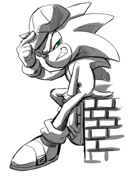 sonic_5 by chellchell